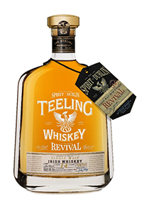Teeling Whiskey's The Revival Vol. 3 Irish Single Malt. Image courtesy Teeling Whiskey.