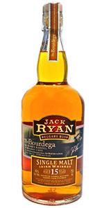 Jack Ryan Bourdega 15 Year Old Irish Single Malt. Image courtesy Jack Ryan Whiskey Company.