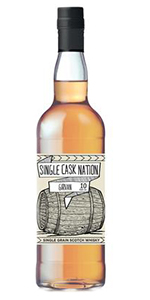 Single Cask Nation Girvan 10. Image courtesy Single Cask Nation/Jewish Whisky Company.
