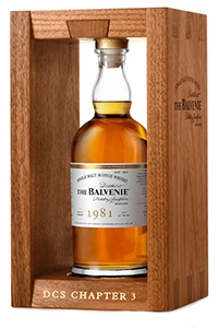 The Balvenie DCS Compendium 1981. Image courtesy William Grant & Sons.
