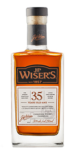 J.P. Wiser's 35 2017 Edition. Image courtesy Corby Spirits & Wine.