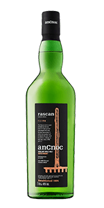 anCnoc Rascan Highland Single Malt Scotch Whisky. Image courtesy Inver House/International Beverage.