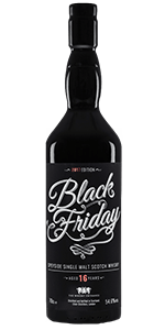 Black Friday 2017 Edition. Image courtesy Elixir Distillers.