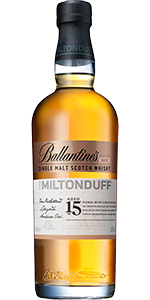 Ballantine's The Miltonduff 15 Single Malt. Image courtesy Chivas Brothers.