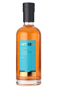 Myken Arctic Single Malt. Image courtesy Myden Distillery.
