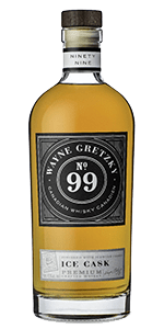 Wayne Gretzky No. 99 Ice Cask Canadian Whisky. Image courtesy Wayne Gretzky Estates.
