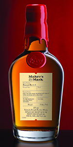 Maker's Mark Seared Bu 1-3 Bourbon. Image courtesy Maker's Mark.