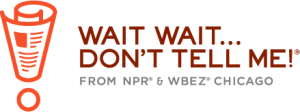 "The logo for ""Wait Wait...Don't Tell Me."" Image courtesy NPR/WBEZ."