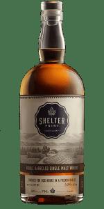 Shelter Point Double Barreled Single Malt Whisky. Image courtesy Shelter Point Distillery.