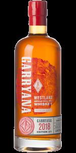Westland Garryana 3/1 2018 Release. Image courtesy Westland Distillery.