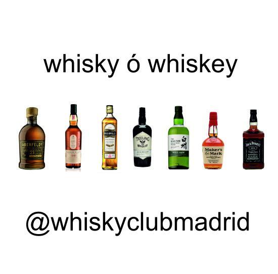 Whisky ó whiskey