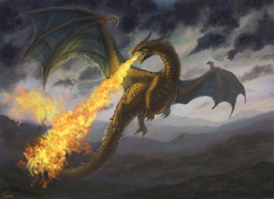Los dragones de la serie en la cata de whisky de la colección de Juego de Tronos
