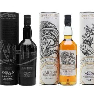 Segunda parte de la cata de Juego de Tronos en Whisky Club Madrid