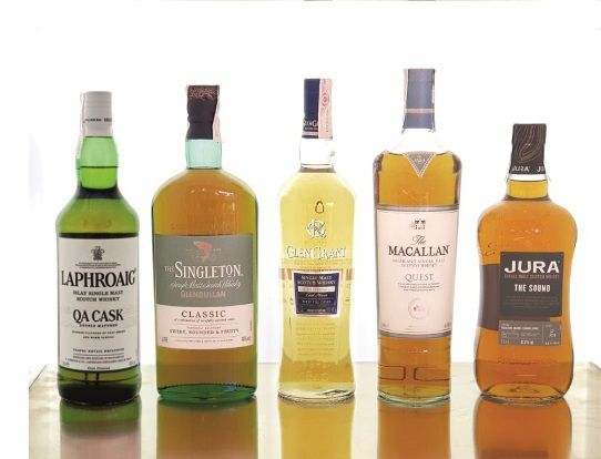 Cata de whisky en Whisky Club Madrid