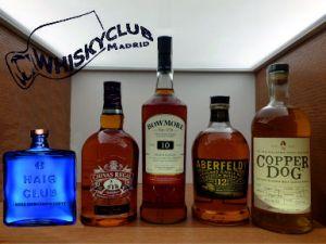 Los 5 tipos de whisky escocés