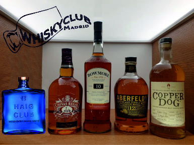 Vuelven las catas en Whisky Club Madrid