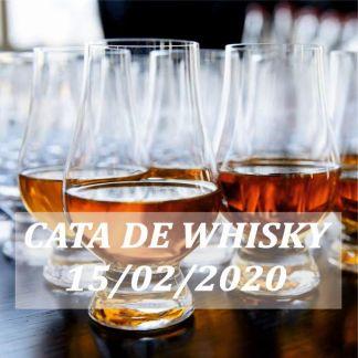 Cata de whisky para principiantes 15 febrero 2020 Madrid