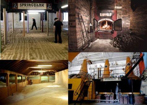 Visita en el interior de la destilería de Springbank