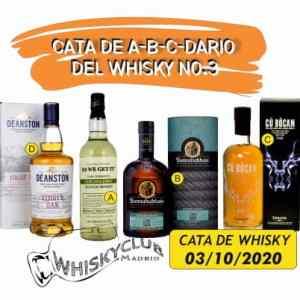 Cata de A-B-C-Dario del Whisky no.3