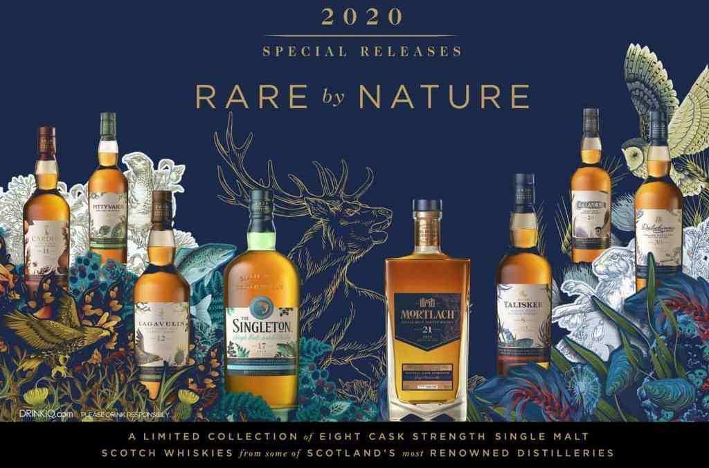 La nueva colección RARE BY NATURE 2020 de Diageo