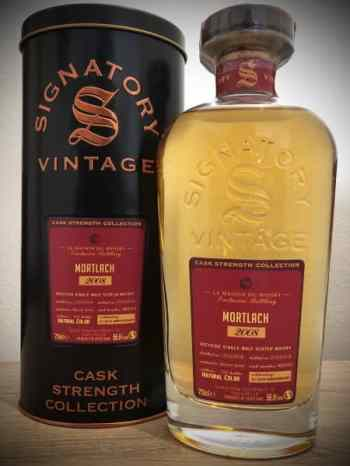 Mortlach 2008 de la colección de Cask Strenght de Signatory Vintage