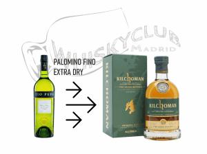 Cata de Jerez Seco Fino y Kilchoman whisky