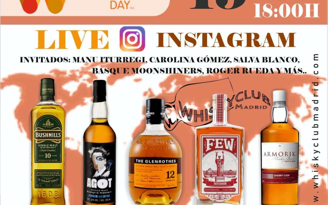 Celebramos World Whisky Day 2021 con una cata multitudinaria en vivo en Instagram