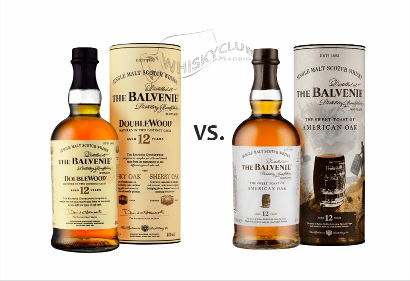BALVENIE 12 Double Wood vs. The Balvenie 12 de la colección Stories