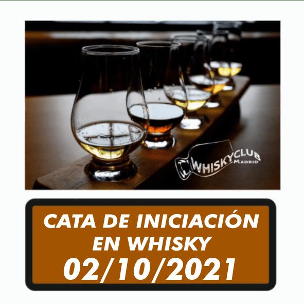 Participa en una cata de iniciación en whisky en Madrid