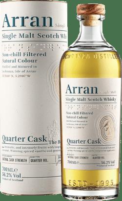 ARRAN QURTER CASK CASK STRENGHT 56,2