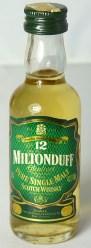 Miltonduff 12yo 5cl
