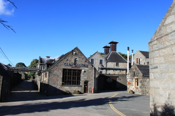 Destillerie Glen Garioch.  Bildrechte bei Lars Pechmann.