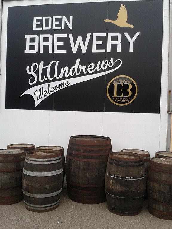 Die Eden-Brauerei in St. Andrews. Bild von Standrewsbrewers, CC-Lizenz.