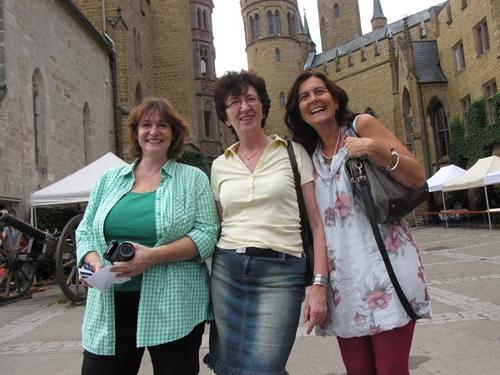 Julia Nourney, Petra Milde und margarete marie sind die Sharing Angels.