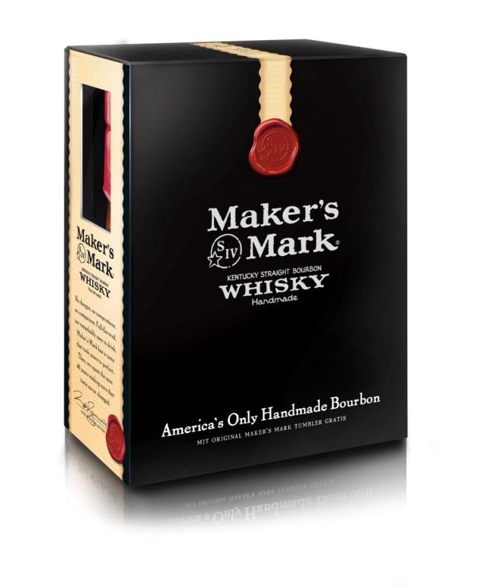 Maker's Mark Geschenkverpackung mit Glas