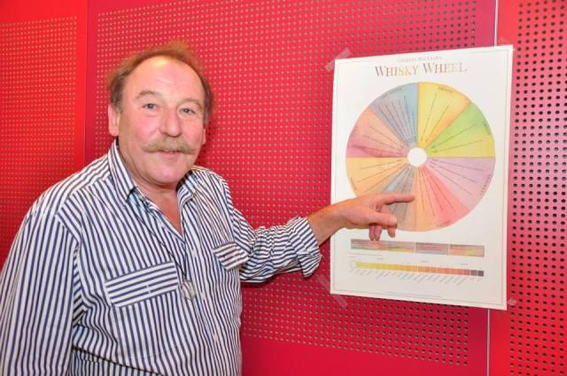 Charles MacLean auf der Aquavitae 2014. Bildrechte bei Ernie - Ernst J. Scheiner