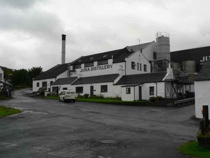 Die Destillerie Jura. Fotorechte: Gerald Petö