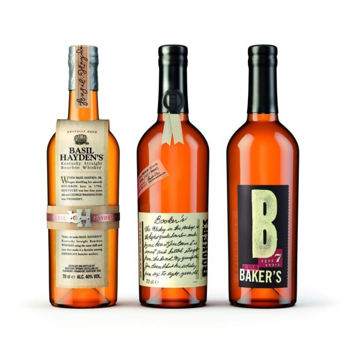 Small Batch Bourbons. Foto © Beam Suntory