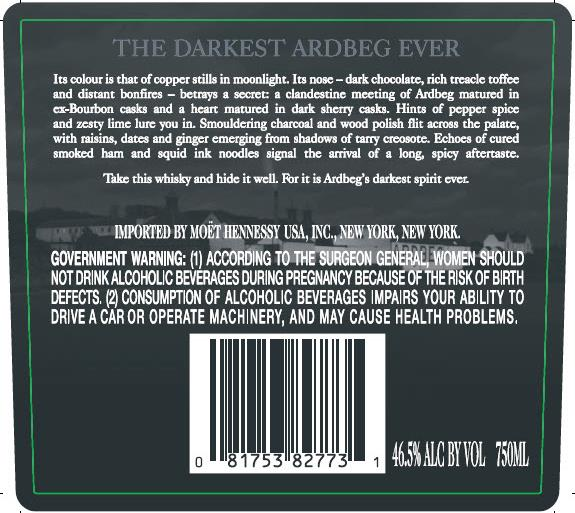 ardbeg darkcove-back