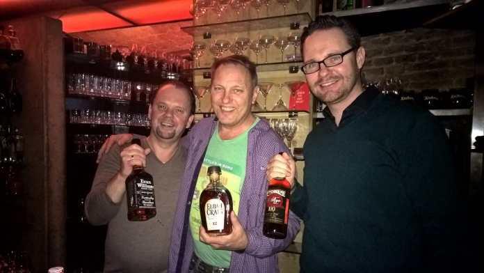 Erich Wassicek (Halbestadt), Bernie Lubbers (Heaven Hill) und Mario Matusch (Borco) - v.l.n.r