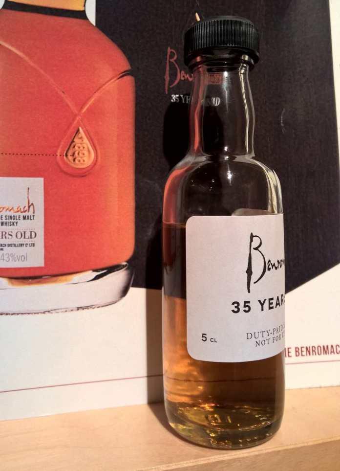 Dieses Sample des Benromach 35yo können Sie von Whiskyexperts gewinnen!