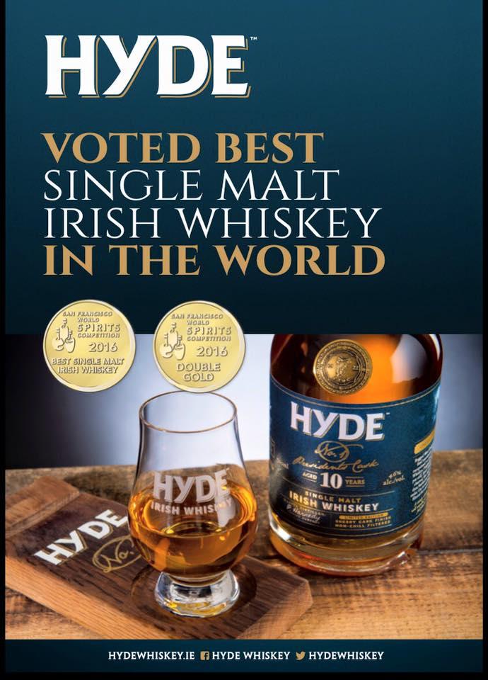 Hyde No.1 Award