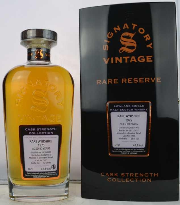 Rare Ayrshire 1975 - Aged 40 years (2)