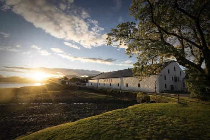 Die Brennerei Talisker auf Skye