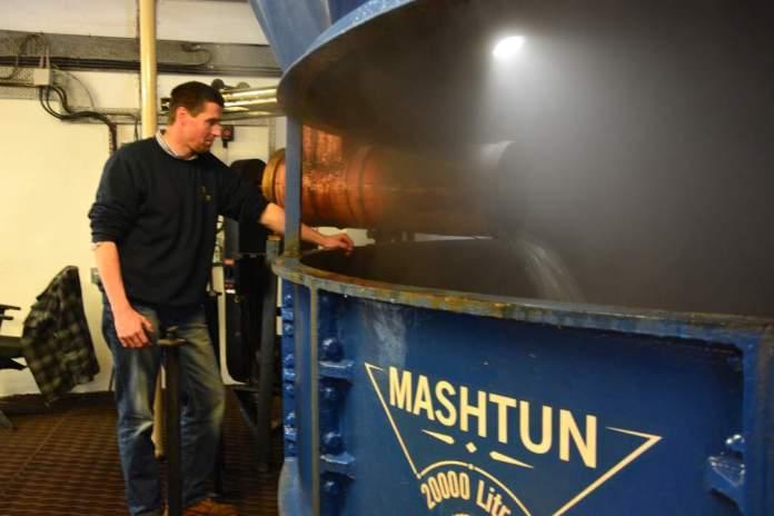 David Watson Mashman bei Glen Scotia