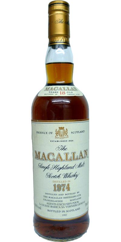 Macallan 18yo