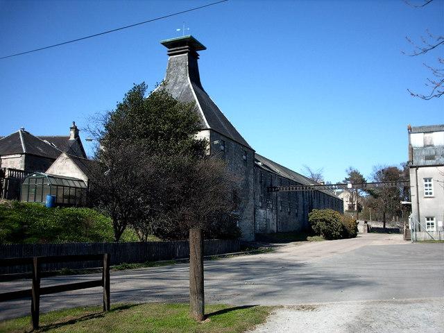 Die Destillerie Mortlach