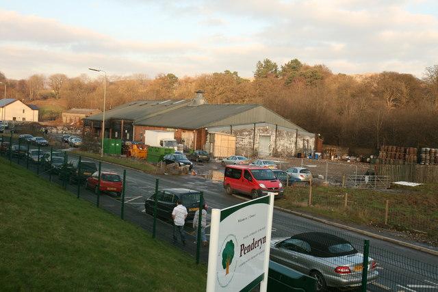 Penderyn Destillerie in Wales, Foto von Aberdare Blog, CC-Lizenz