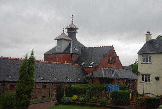 Glenlochy Destillerie (Lost), Foto von Nigel Chadwick, CC-Lizenz