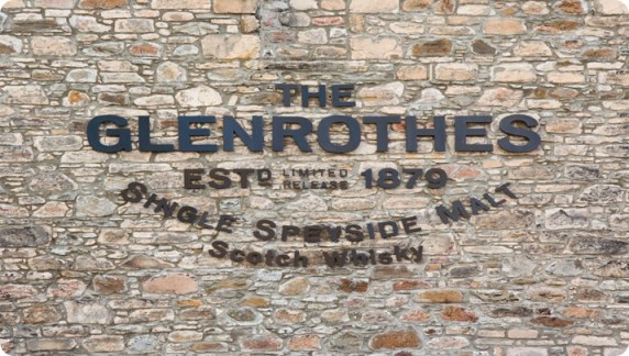 Rothes_Glenrothes_distillery_letters